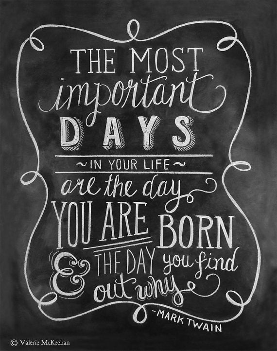 The Most Important Days - Mark Twain Quotes
