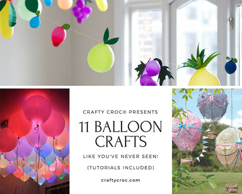 How to Make Amazing DIY Balloon Crafts