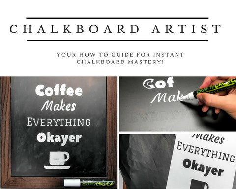 How to Become an Expert Chalkboard Artist Instantly