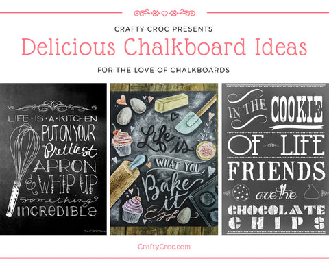 6 Delicious Chalkboards for your Kitchen