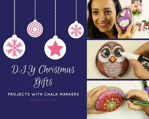 How to Make DIY Christmas Gifts with Liquid Chalk Markers