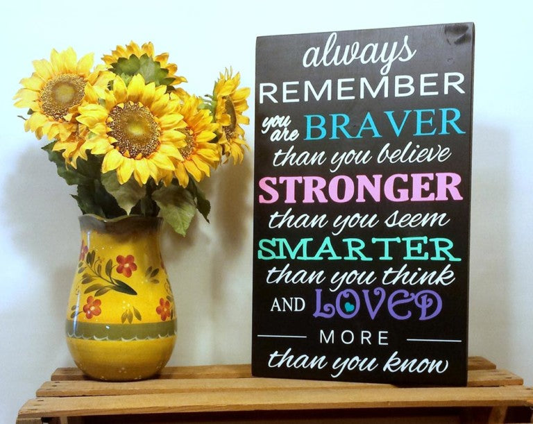 Always Remember quote by Winnie the Pooh