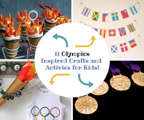 11 Olympics Inspired Craft Activities and Games for Kids