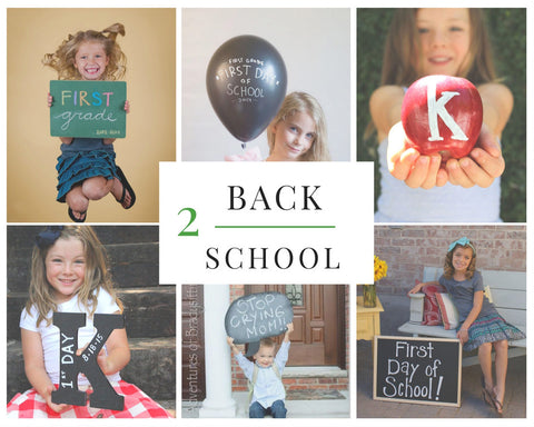 The 13 Cutest Back to School Photos Inspired by Chalk