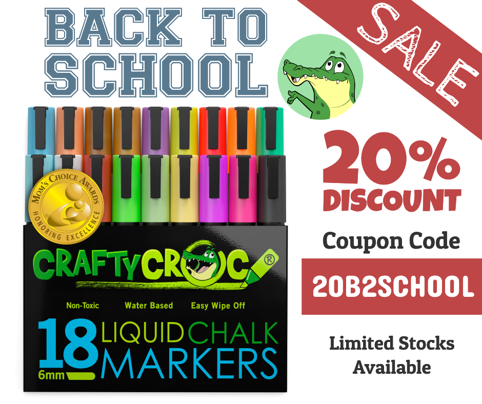 18 Pack Back to School Promotion
