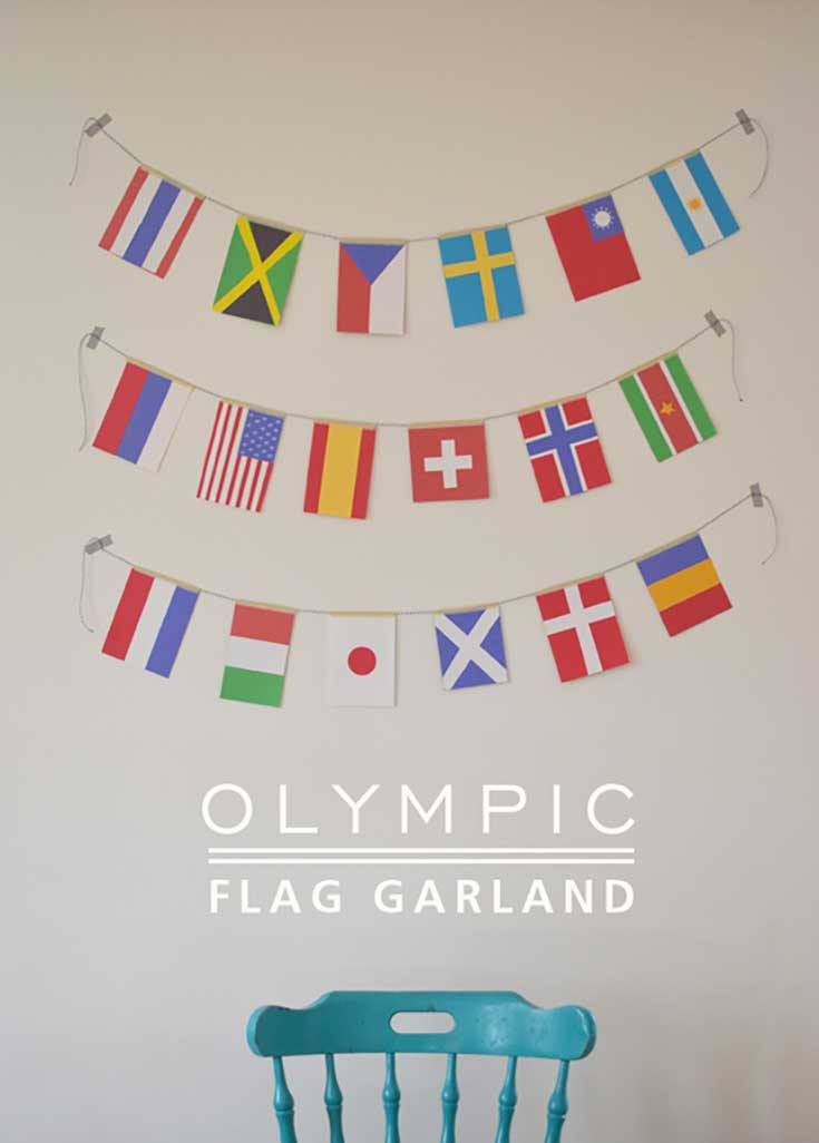 2016 Olympics Craft Activities for Kids