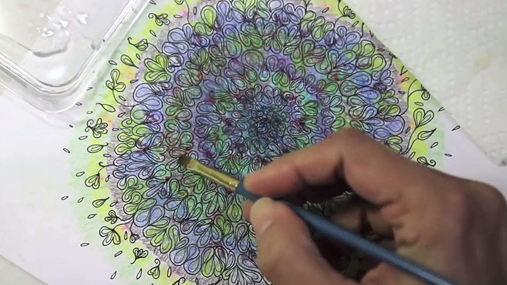 Coloring Tips for Gel Pens