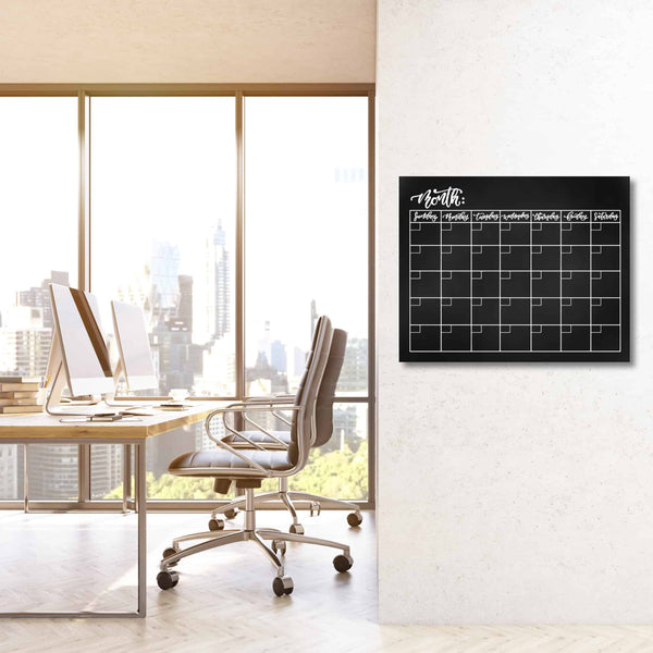 Crafty Croc Acrylic Wall Calendar Monthly - Image 1