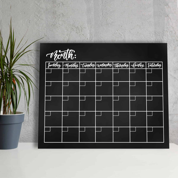 Crafty Croc Acrylic Wall Calendar Monthly - Image 3