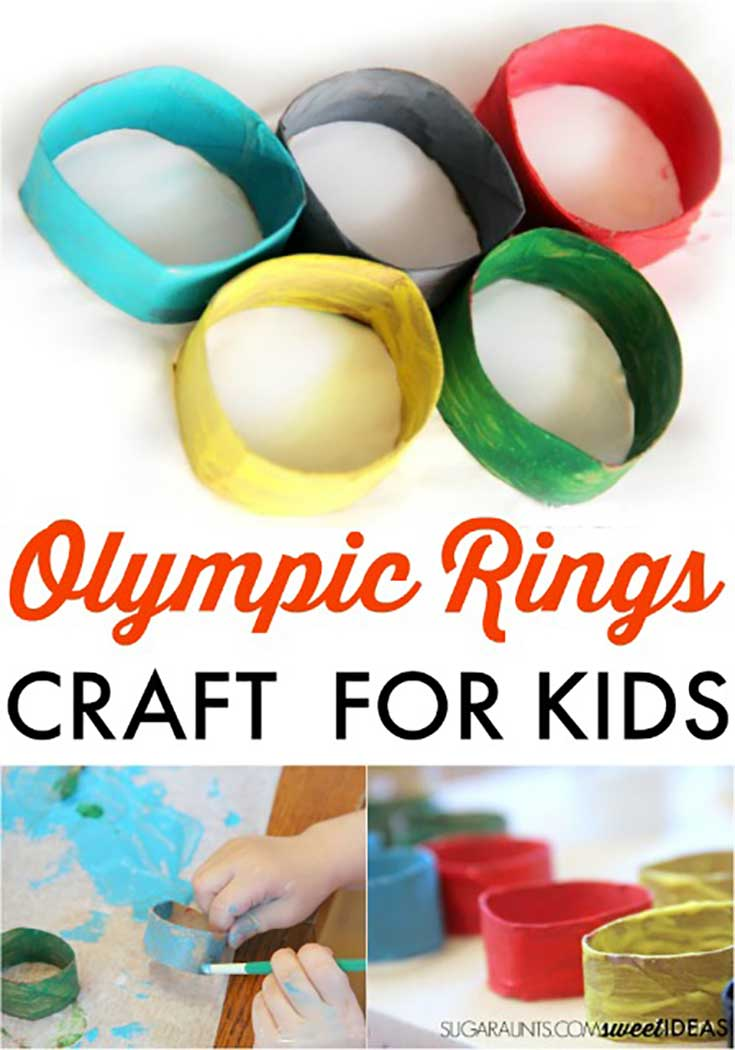Olympics Craft Projects for Kids