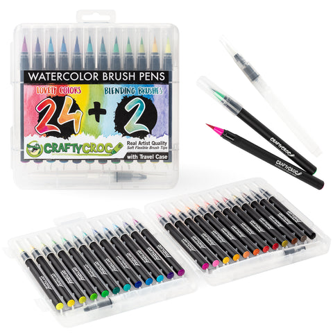 Exclusive Bundle: Brush Pens with Lettering Book (Limited Time Only)
