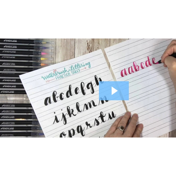 Video Course: 7 Days of Lettering Basics (Hidden Promo)