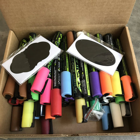 Image of Open Box Chalk Markers, Assorted Options