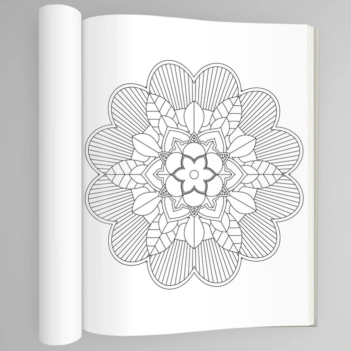 Coloring Book - Relaxing Mandalas (PDF)