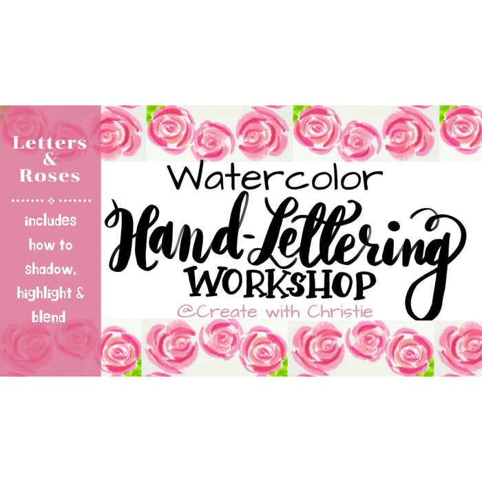 Watercolor Hand Lettering and Illustration Course
