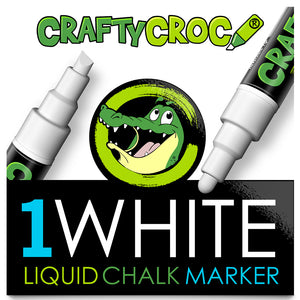 Liquid Chalk Marker - 1 White