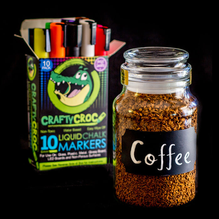 Liquid Chalk Markers – 10 Neon Colors