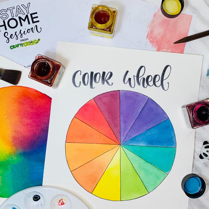 Color Theory with Watercolors - Catherine