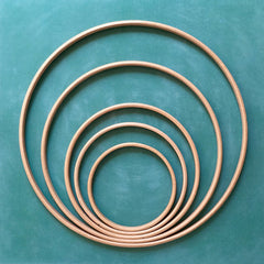 cercles boiss pour attrapes reves et diy