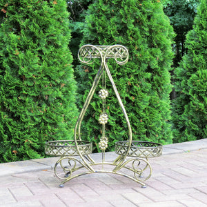 Triangle 3 Basket Plant Stand