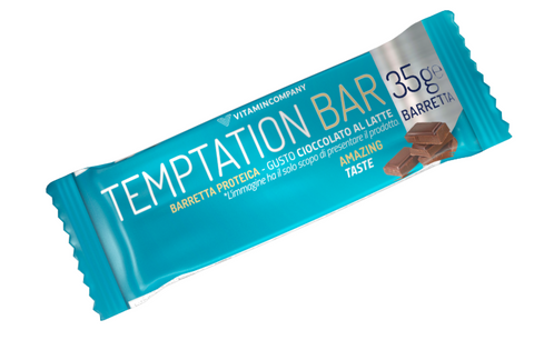 Temptation bar 35g Cioccolato al latte