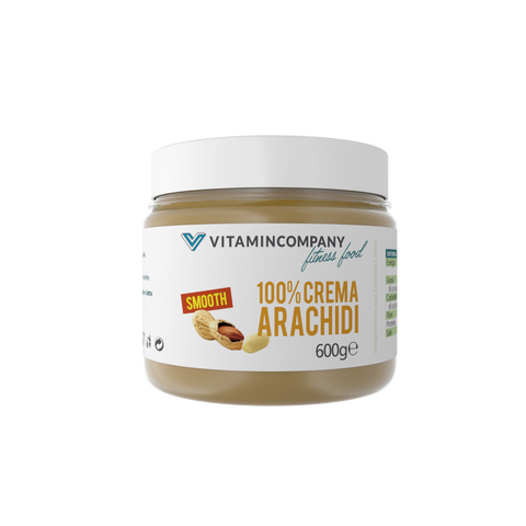 Crema d'arachidi Smooth 600 g