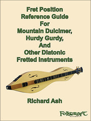 fret reference guide dulcimer and hurdy gurdy