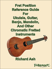 fret position reference guide ukulele guitar