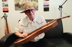 mike squint with dulcimer