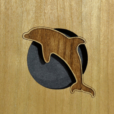 circle dolphin sound hole
