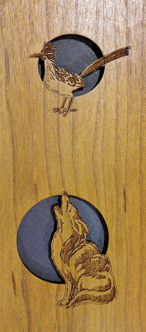 roadrunner and coyote sound hole