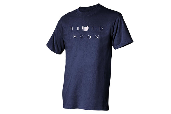 """Druid Moon®"" Logo T-Shirt, Navy Blue, 3X"