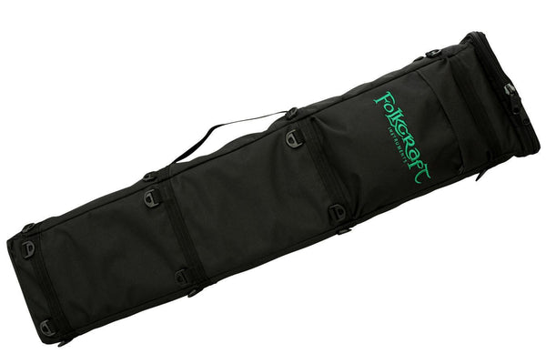 Deluxe Rigid Dulcimer Case (For Folkcraft® Custom Series Instruments)-Folkcraft Instruments Dulcimer Case Bag