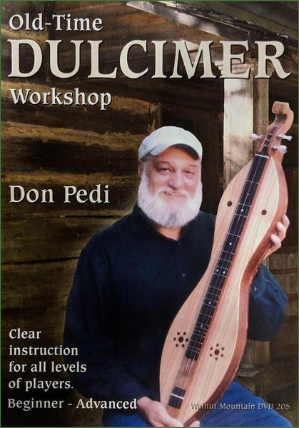 Don Pedi - Old-Time Dulcimer Workshop - DVD Video