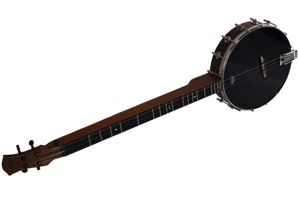 Folkcraft LAP-JO® Pro, Mahogany Body, Black Mylar Head