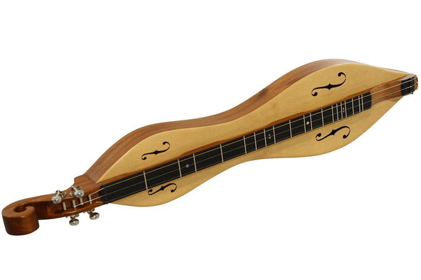 Folkcraft® Custom Series Dulcimer, Honduras Mahogany Body, Sitka Spruce Top, Serial Number 8012684-Folkcraft Instruments
