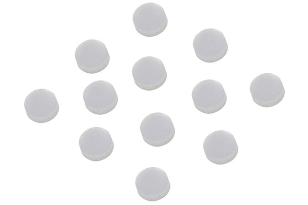 Folkcraft® Mother Of Pearl Position Dots, 4 Millimeter, Pack Of Twelve-Folkcraft Instruments