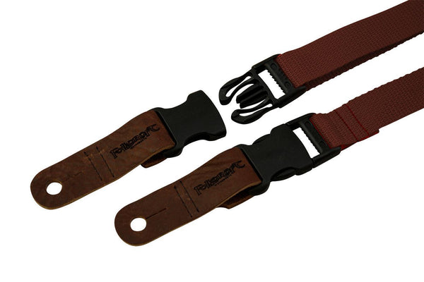 "Folkcraft® Quick-Release 1"" Wide Dulcimer/Ukulele Strap, Brown-Folkcraft Instruments"