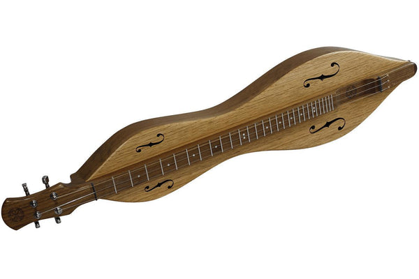 FolkRoots® D Series Dulcimer, Walnut Body, Butternut Top, Serial Number 90108193-Folkcraft Instruments