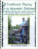 Lorinda Jones - Traditional Playing Of The Mountain Dulcimer: Book, CD, And DVD Package