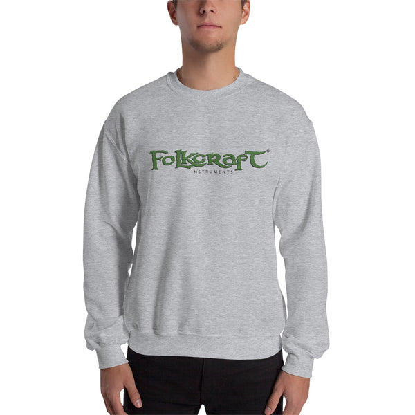 Folkcraft® Logo Sweatshirt, Gray