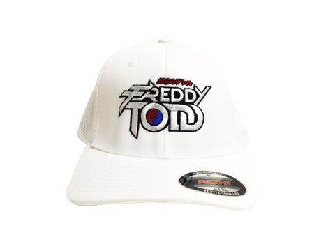 Limited Freddy Todd Flexfit Hat in White