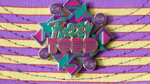 Freddy Todd Limited Pin