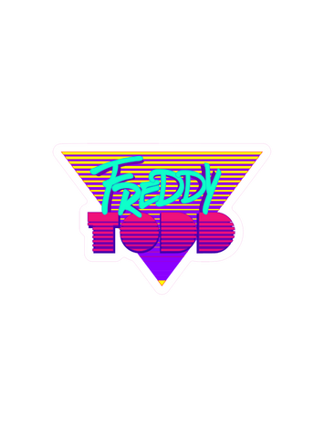 Freddy Todd Miami Logo Sticker