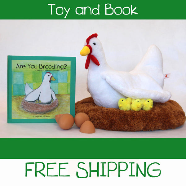 Are You Brooding? Toy and Book Set
