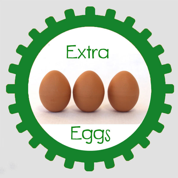 Extra Eggs with Chicks inside