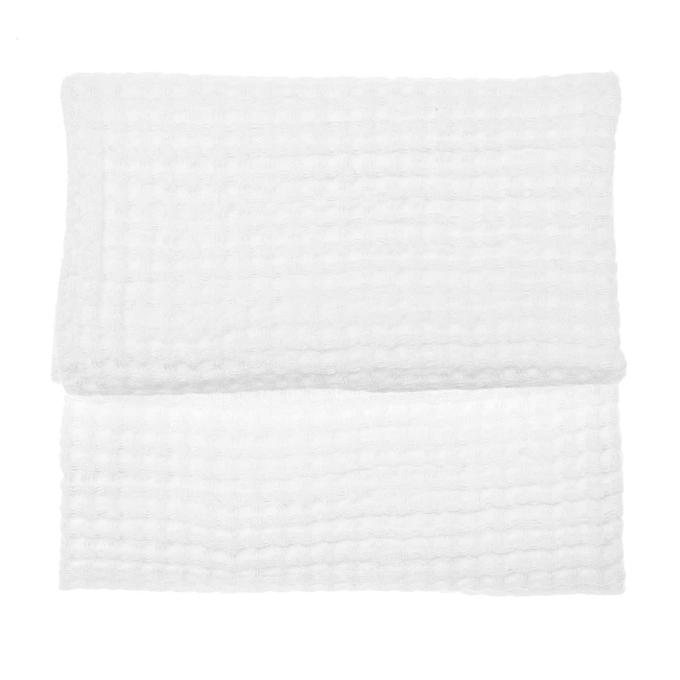 Swan White Small Linen Towel