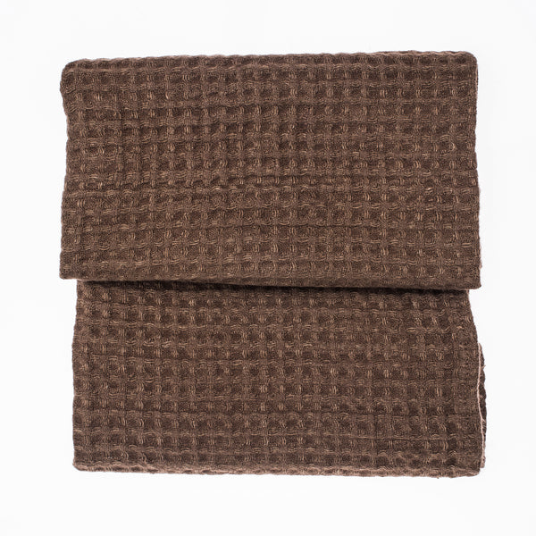Pecan Small Linen Towel
