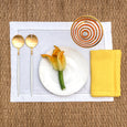 linen napkin yellow linen placemat stonewashed white