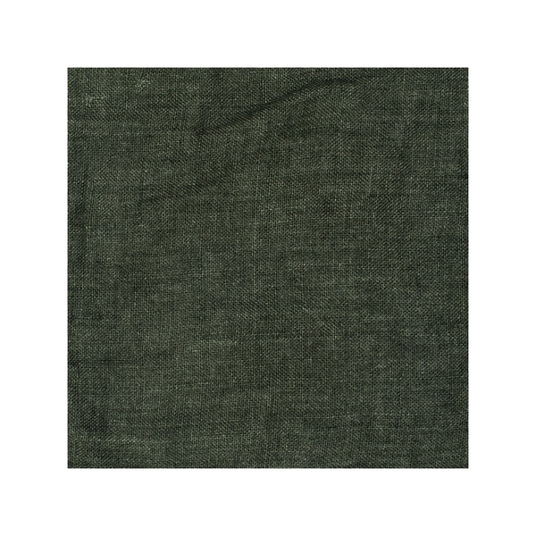 Seaweed Green Linen Flat Sheet